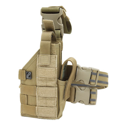 J-TECH(ジェイテック)Tactical Holster Coyote [ライト対応][左右兼用]【中田商店】