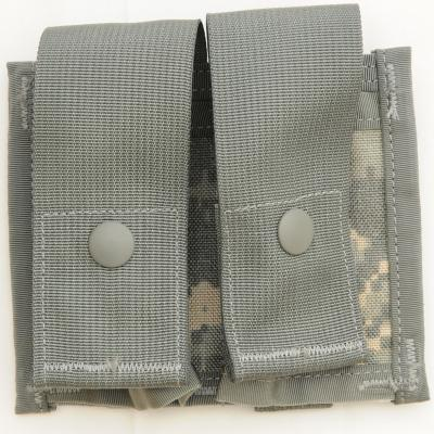US(米軍放出品)MOLLE II 40mm High Explosive Pouch Double Universal Camo [ACU]