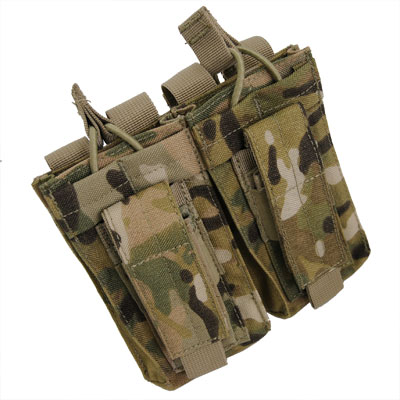 CONDOR(コンドル)Double Kangaroo Mag Pouch[MultiCam][MA51]