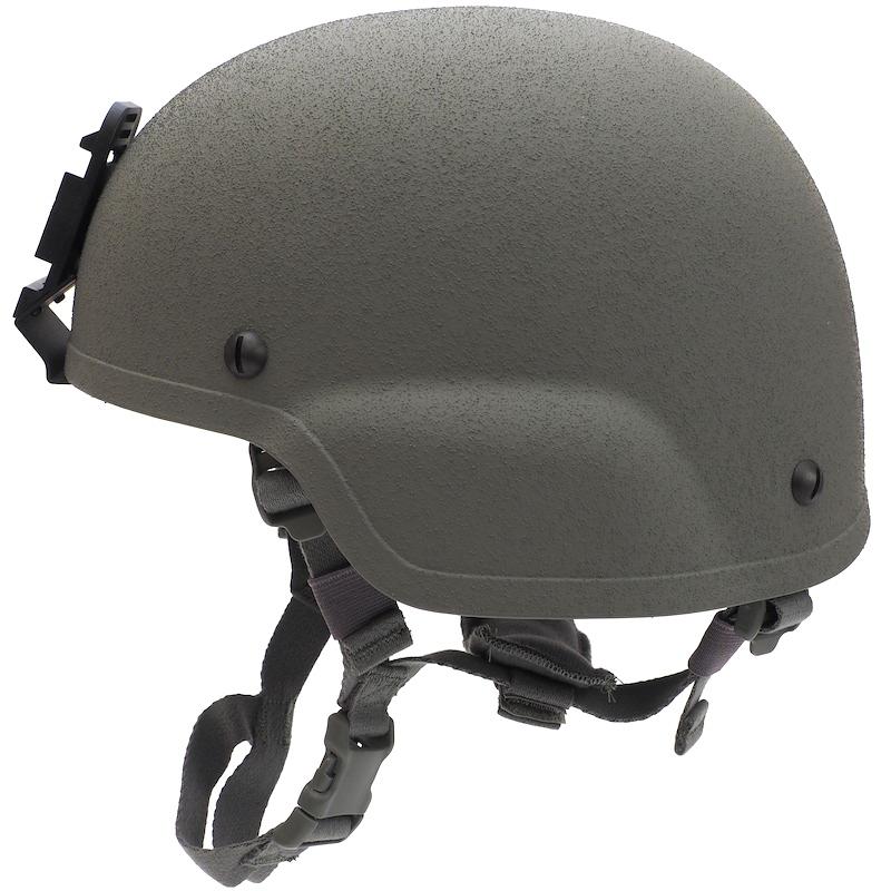 キャプテントム us 米軍放出品 ach mich用リバーシブルヘルメット