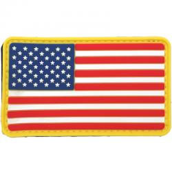 5ive Star Gear (ファイブスターギア) ミリタリー ラバーパッチ U.S. FLAG MORALE PATCH  Red/White/Blue