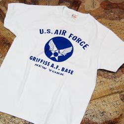 "BUZZ RICKSON'S(バズリクソン)ショートスリーブ T-SHIRTS ""U.S.AIR FORCE GRIFFISS A.F.BASE""[BR78015]"