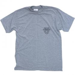 US(米軍放出品)USMA S/S T-SHIRTS FITNESS UNIFORM[GREY]