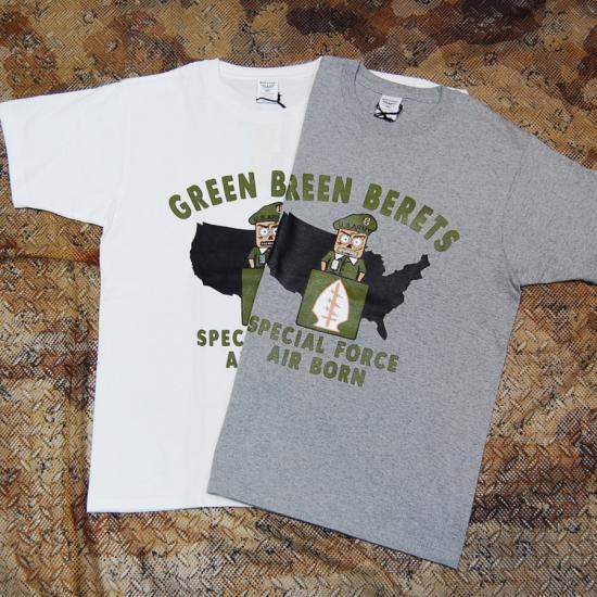 Houston print t shirts green beret 2 for T shirt printing in houston tx