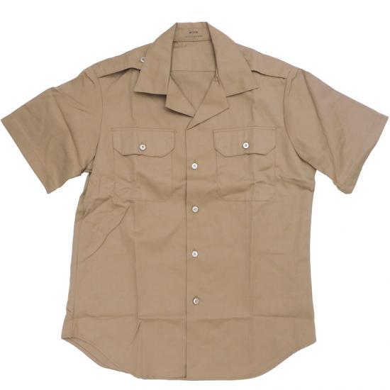 US(米軍実物) ショート スリーブ チノシャツ [新品]