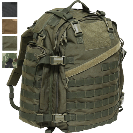 J-TECH(ジェイテック)Falcon-2 Assault Pack [OD Black Coyote 自衛隊迷彩][中田商店]【送料無料】