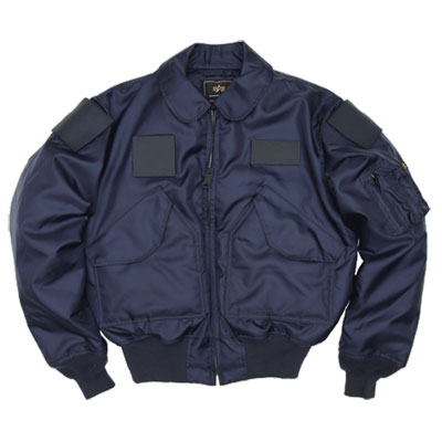 【ALPHA/アルファ】 CWU-45P NOMEX Style Navy with Velcro [フライトジャケット][リアルレプリカ]【送料無料】