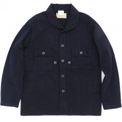 WILLIAM GIBSON by BUZZ RICKSON'S(ウイリアムギブソン バズリクソン)BLACK HERRINGBONE UTILITY JACKET[BR13935]【送料無料】