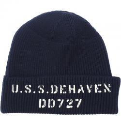 BUZZ RICKSON'S(バズリクソン)U.S.N WATCH CAP NAVY [USS DE HEAVEN][BR02510]