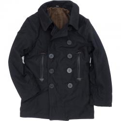 【WILLIAM GIBSON by BUZZ RICKSON'S(バズリクソン)】Type BLACK PEA COAT JUNGLE CLOTH [BR13656]