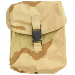 US(米軍放出品)MOLLE II 200RD Ammo/General Purpose Pocket Style4030 3C Desert [SDS製M249 SAW(支援火器)200連マガジンポーチ]