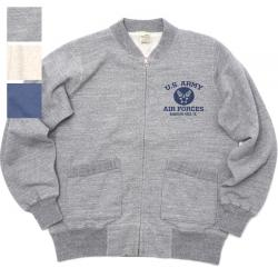 "BUZZ RICKSON'S(バズリクソン)SET-IN ZIP SWEAT ""U.S.ARMY AIR FORCES"" [BR65601][3色]"