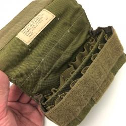 US(米軍放出品)EAGLE 24ラウンドショットガンアモポーチ コヨーテ [24Round Ammo Pouch Coyote]