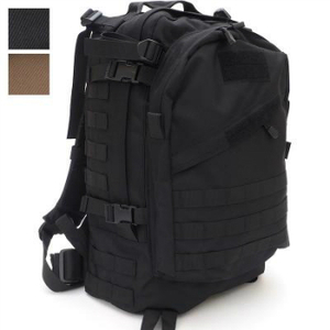 MILITARY (ミリタリー) 3デイ ミリタリーバックパック GI SPEC 3-DAY MILITARY BACKPACK [Black][Coyote]