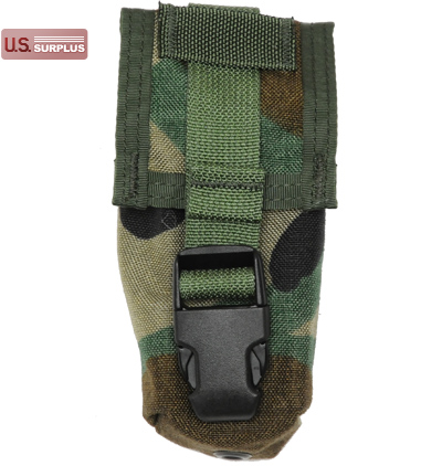 【US/米軍放出品】MOLLE Flashbang Pouch [Woodland]