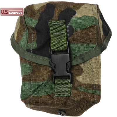 US(米軍放出品)MOLLE II 100 Round Pouch [Woodland]