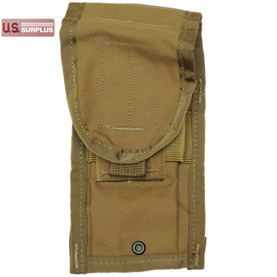 【US/米軍放出品】[SDS] M-4 Double Mag Pouch CQB Coyote