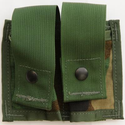 US(米軍放出品)Double 40mm High Explosive Pouch Woodland