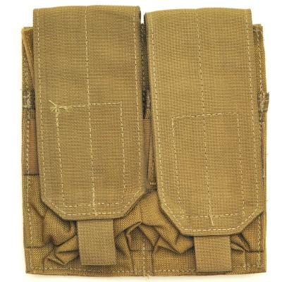 【US/米軍放出品】M16A1 Double 2 Mag Pouch MOLLE Style Coyote