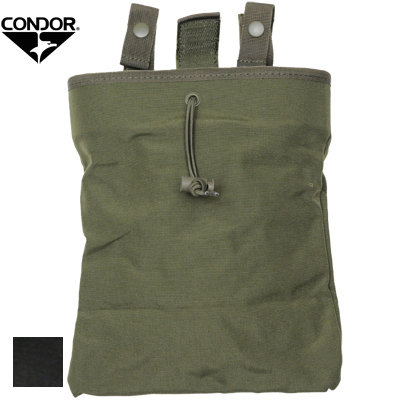 CONDOR(コンドル)3-Fold Mag Recovery Pouch [ダンプポーチ][Black OD][MA22]