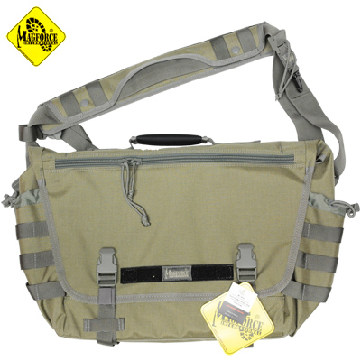 MAGFORCE(マグフォース)Tactical Messenger Bag Khaki/FGW [MF-6023][ショルダーバッグ]