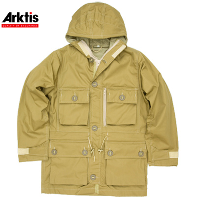 【Arktis/アークティス】UK Smock 6-Button Coyote Brown【送料無料】
