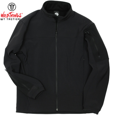【Wild Things Tactical】Soflshell LE Jacket Black [Made in USA]【送料無料】