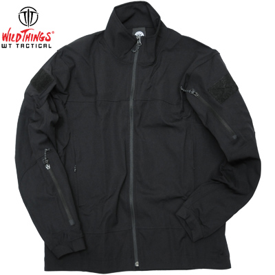 Wild Things Tactical ワイルドシングス タクティカル  Light Weight Softshell Jacket Black [Made in USA]