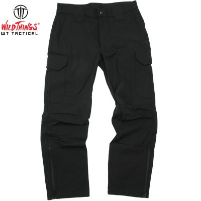 【Wild Things Tactical】Softshell Pants Light Weight Black [Made in USA]【送料無料】