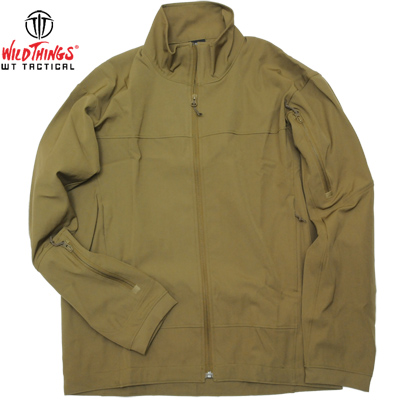 【Wild Things Tactical ワイルドシングス タクティカル】Light Weight Softshell Jacket Coyote [Made in USA]
