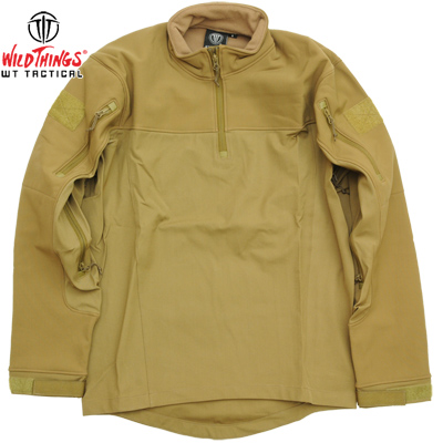 【SALE 30%OFF】 Wild Things Tactical ワイルドシングス タクティカル Hybrid Combat Soft Shell Coyote - SO 1.0