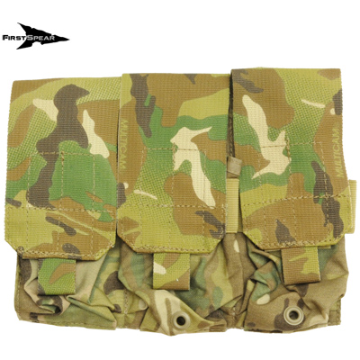 First Spear(ファーストスピア)[6/12] M-4 Triple Magazine Pocket [MultiCam]