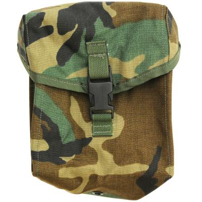 US(米軍放出品)MOLLE 200RD Ammo/General Purpose Pocket Style4030 Woodland